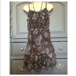 American Eagle Outfitters ruffle dress sz 4